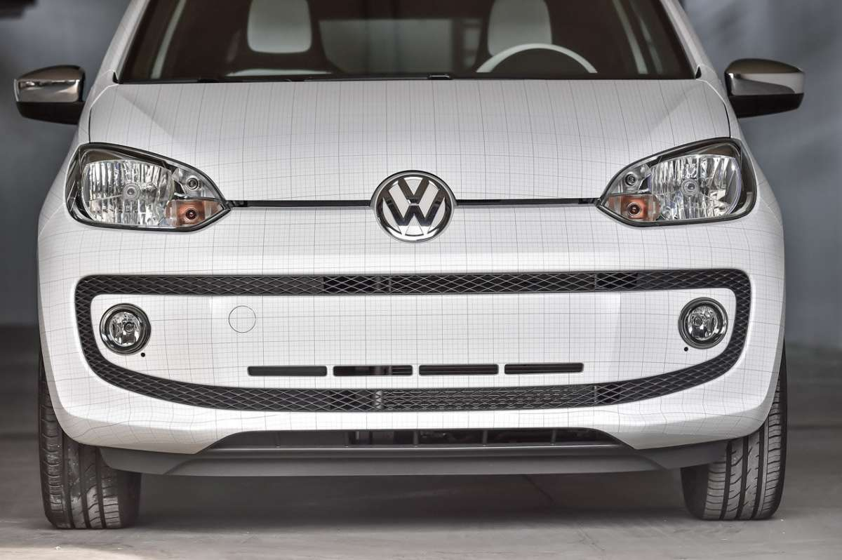 Volkswagen Up! Garage Italia Customs frontale