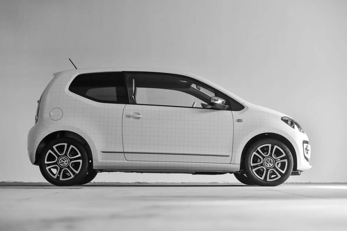 Volkswagen Up! Garage Italia Customs laterale