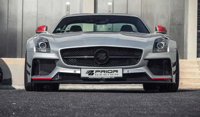 Mercedes-Benz SLS: tuning by Prior Design
