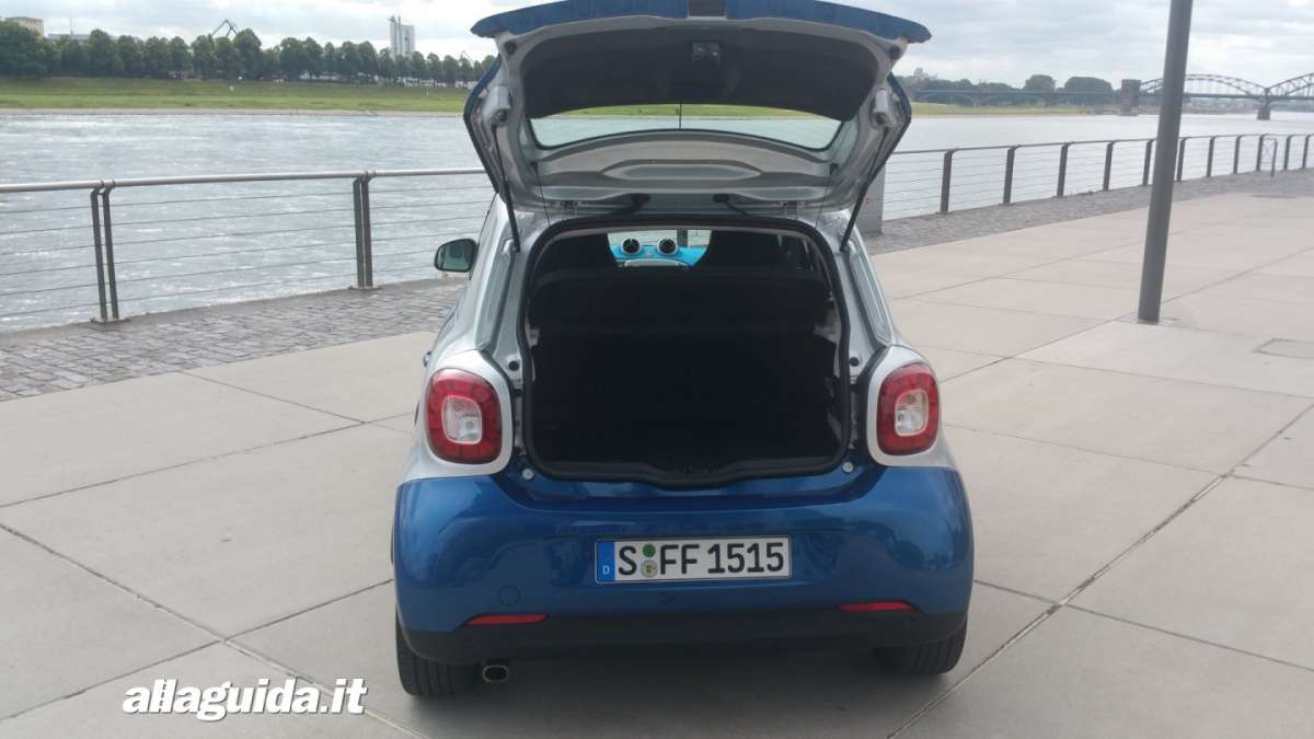 Smart forfour Twinamic automatica