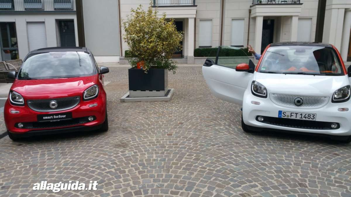 Smart Twinamic, fortwo e forfour