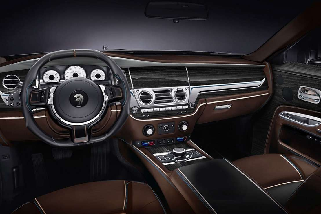interni del suv Rolls Royce by Ares