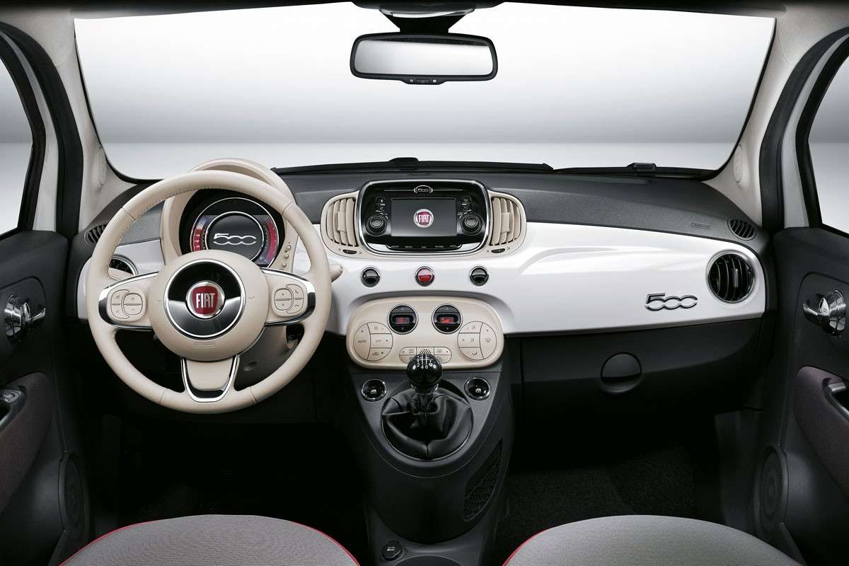 Fiat 500 a Gpl interni