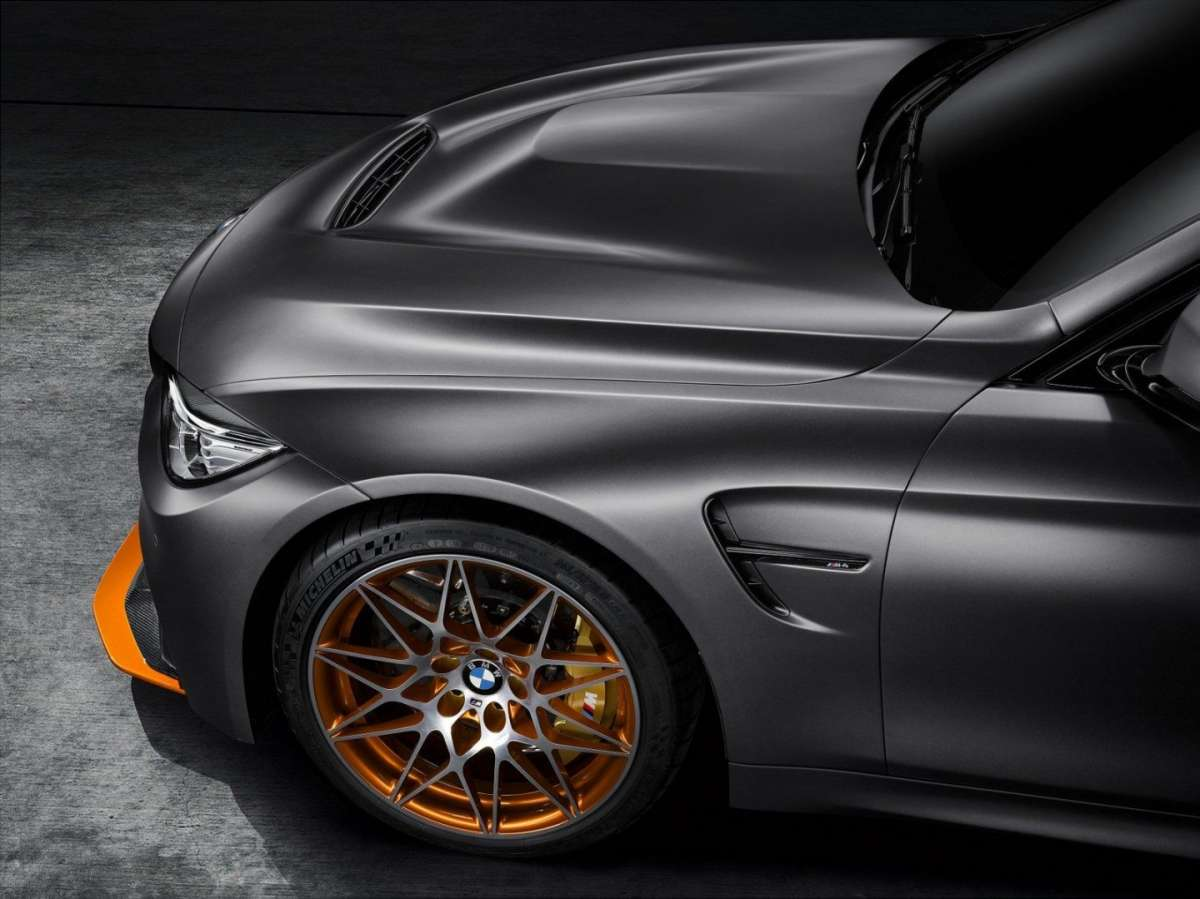 BMW M4 GTS Concept body kit