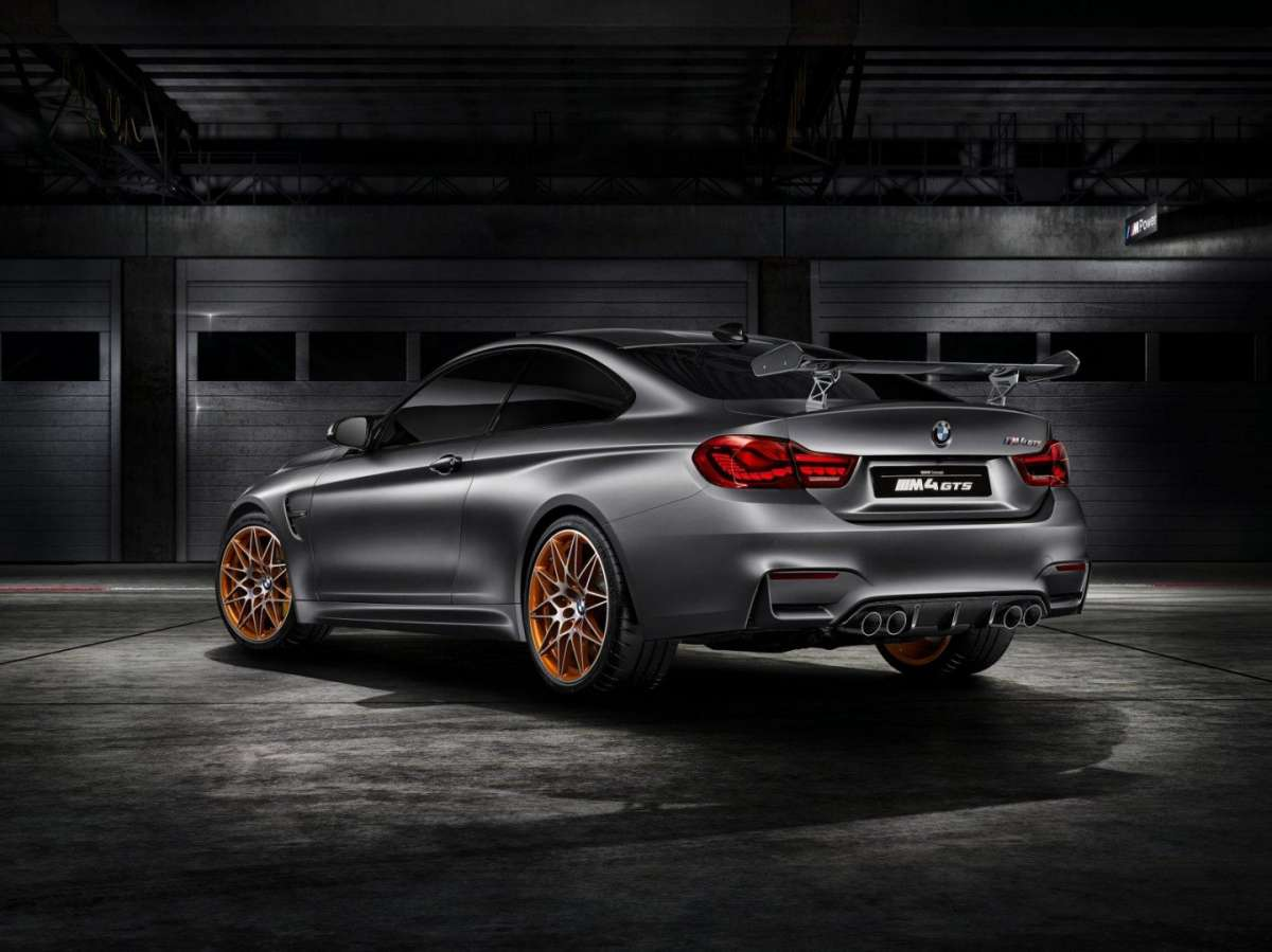 BMW M4 GTS Concept motore 3.0 TwinPower Turbo