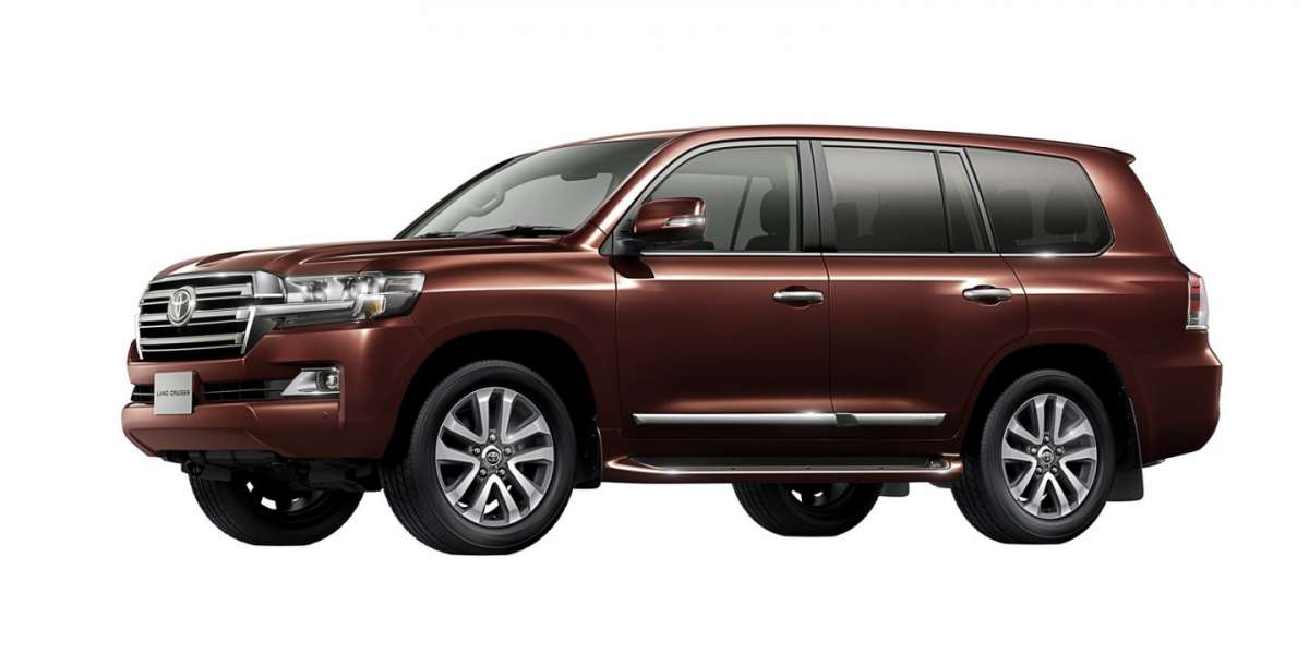Nuova Toyota Land Cruiser 2016 marrone