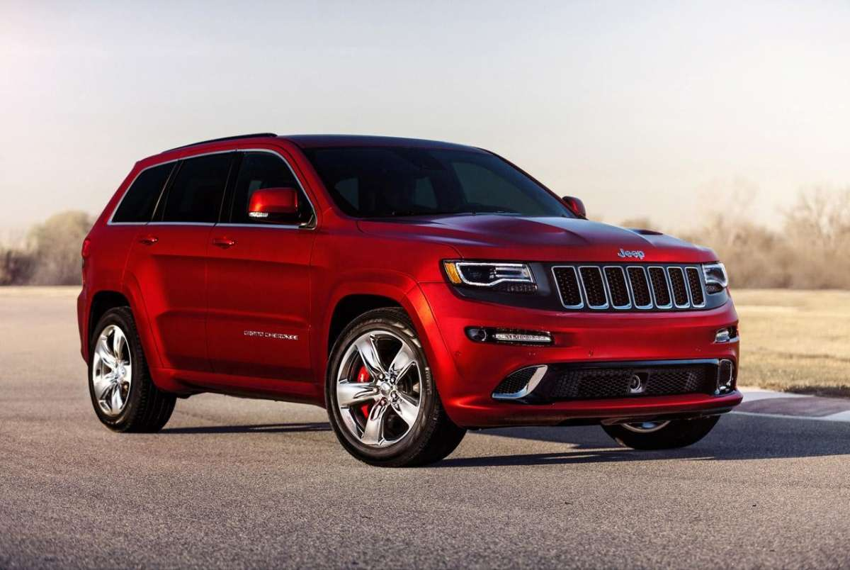 Jeep Grand Cherokee SRT8 foto