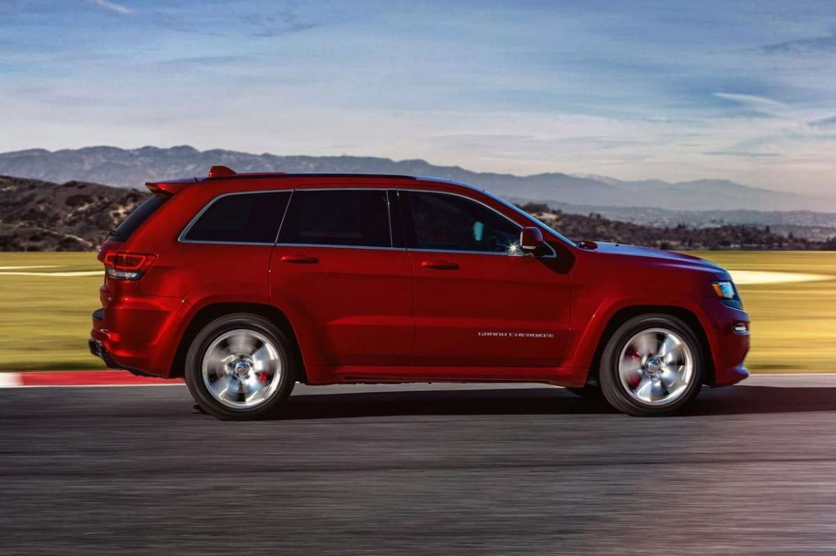 Dimensioni Grand Cherokee
