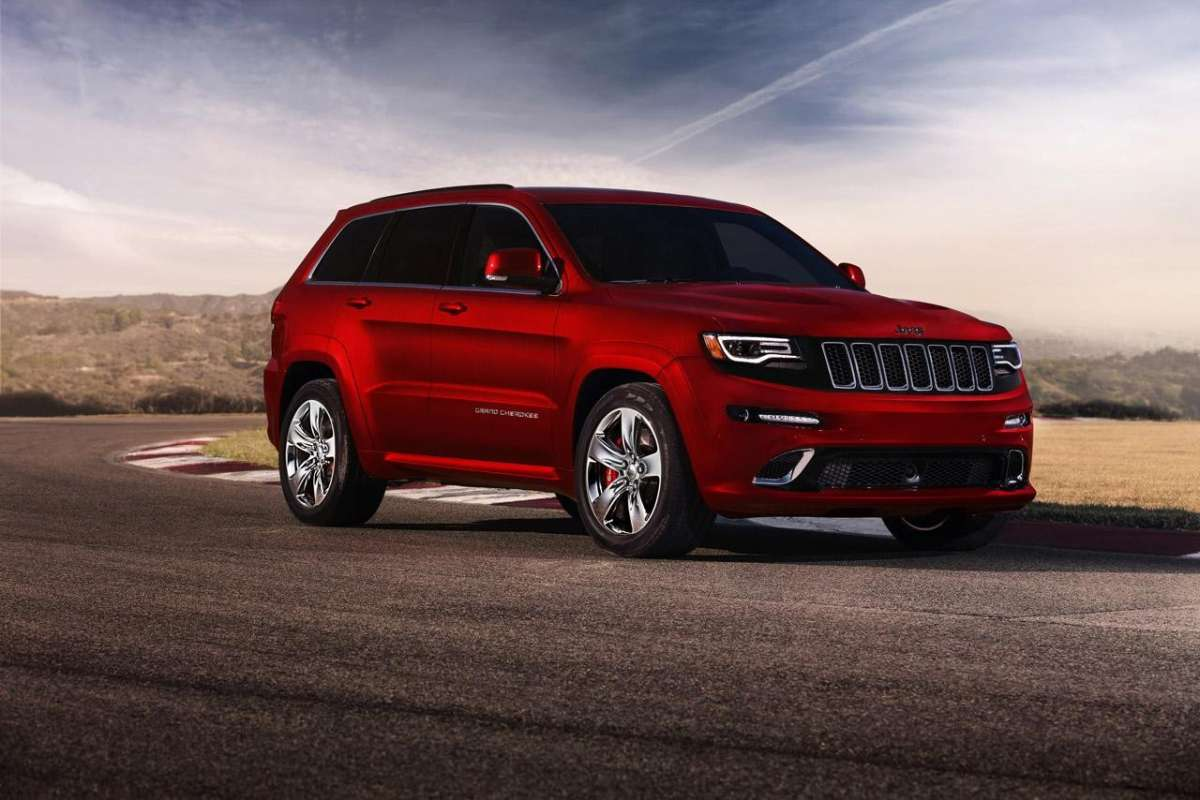 Jeep Grand Cherokee SRT8 motore