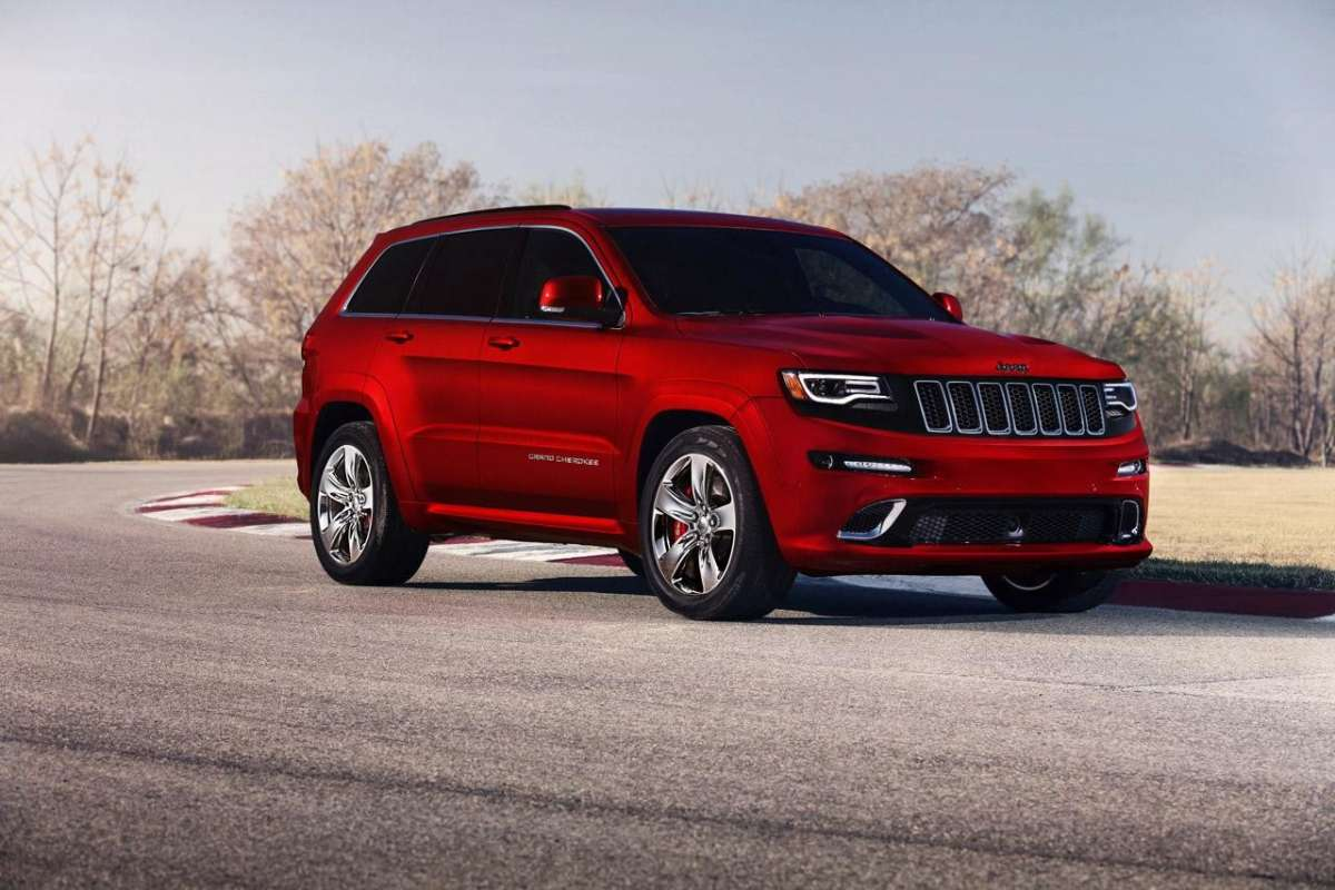 Jeep Grand Cherokee SRT8 performance