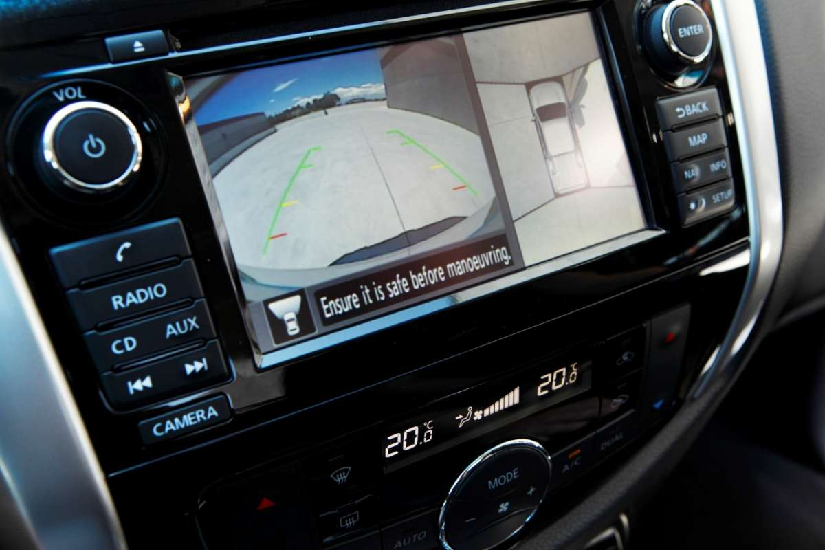 Display sistema di infotainment Nissan