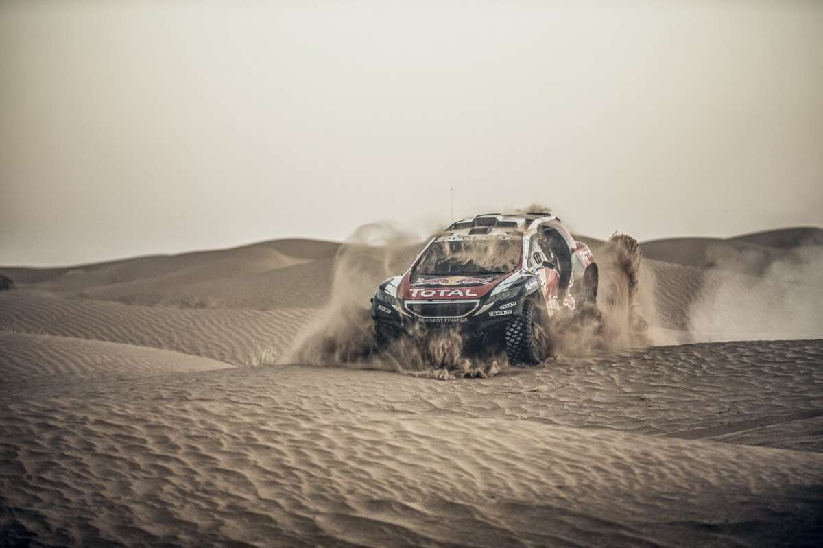 Peugeot 2008 DKR Silk Road Rally