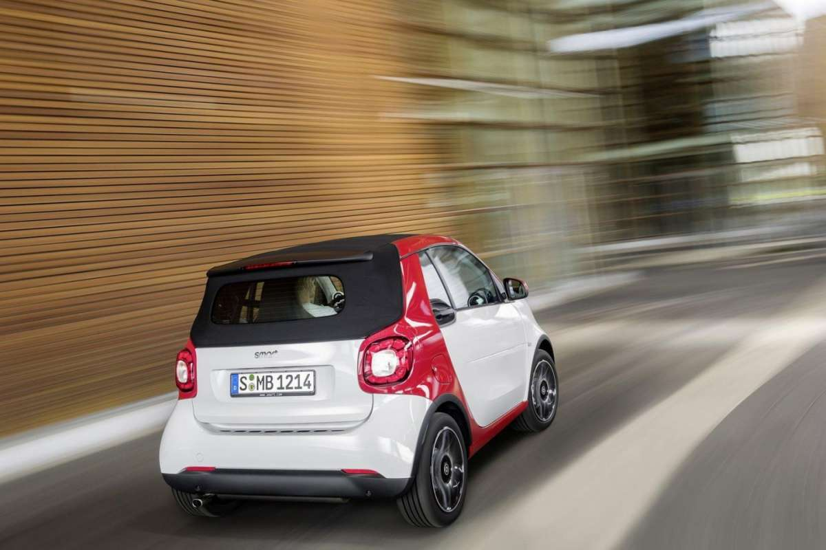 Nuova Smart ForTwo Cabriolet