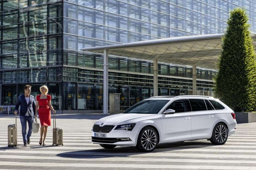 Skoda Superb Wagon, sotto al cofano.