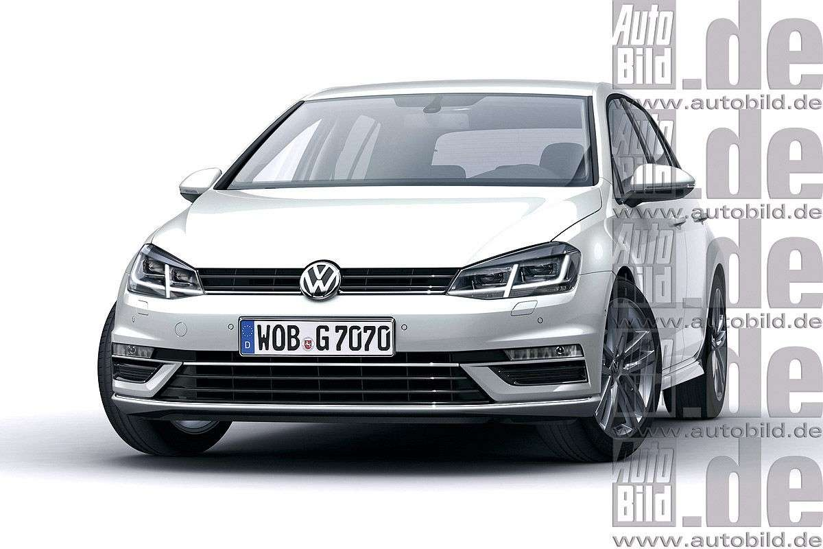 Volkswagen Golf 2016 restyling