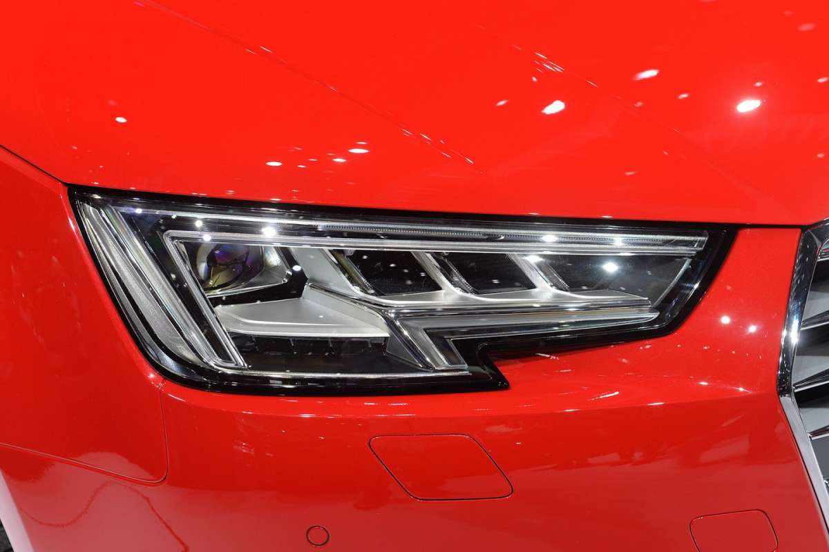 Audi A4 2015 fari full LED