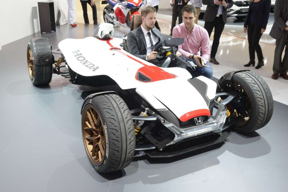 Honda Project 2&4 al Salone di Francoforte 2015