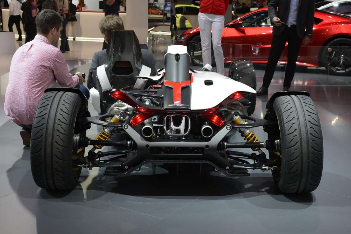 Honda Project 2&4 al Salone di Francoforte 2015, retrotreno