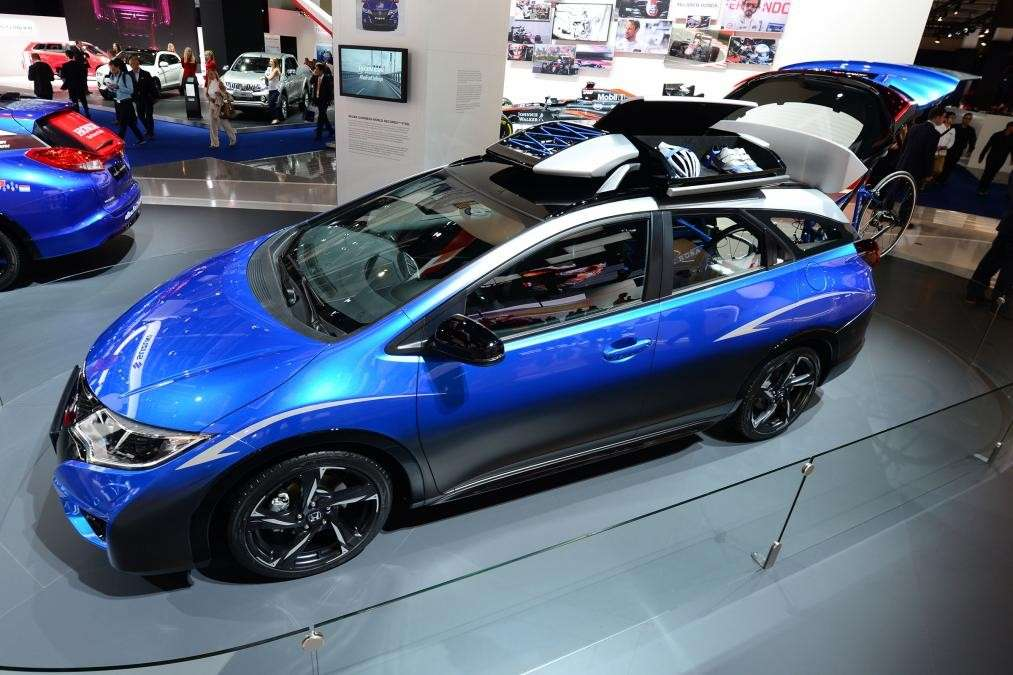 Honda Civic Tourer Active Life al Salone di Francoforte 2015