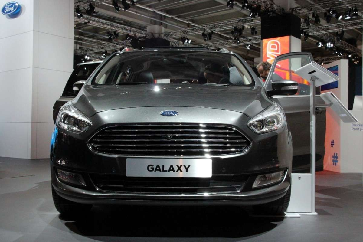 Ford Galaxy restyling al Salone di Francoforte 2015