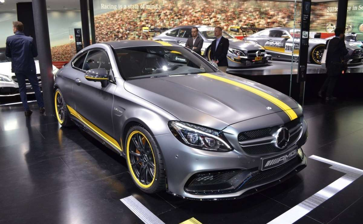 C63 Coupè Salone di Francoforte 2015 first edition