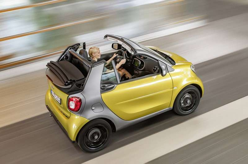 Tetto apribile Smart Fortwo Cabrio