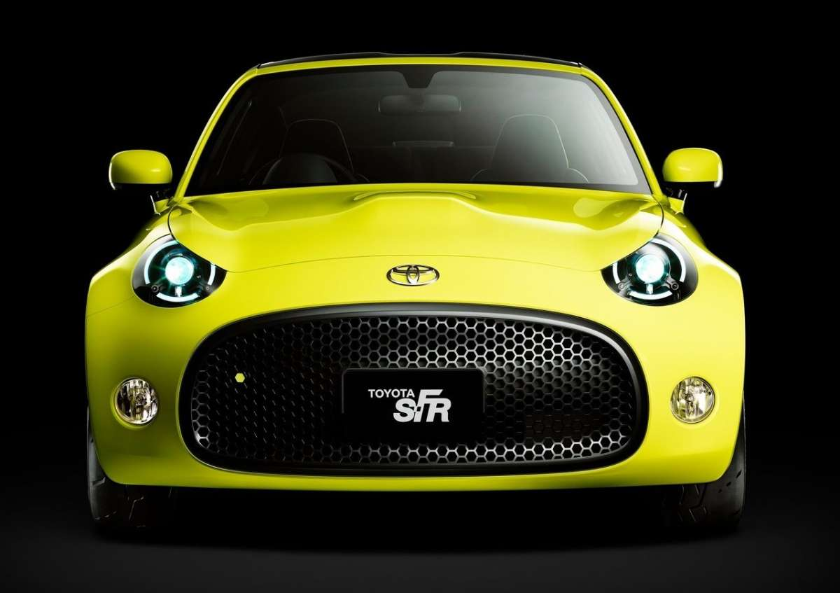 Toyota S-FR Concept, frontale