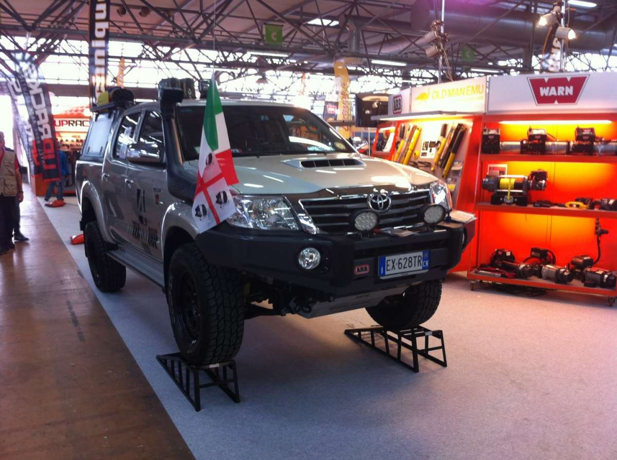 Il bellissimo Pick-up Toyota