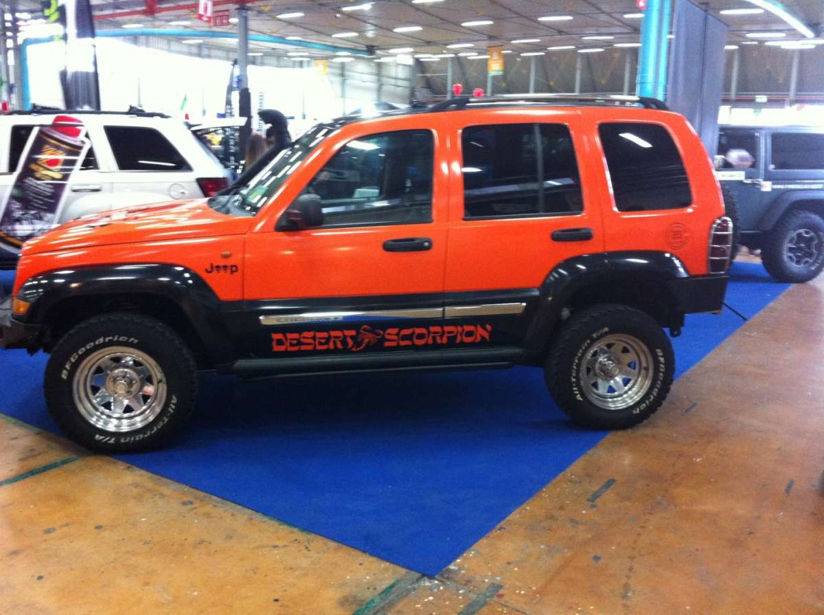 Jeep modificata