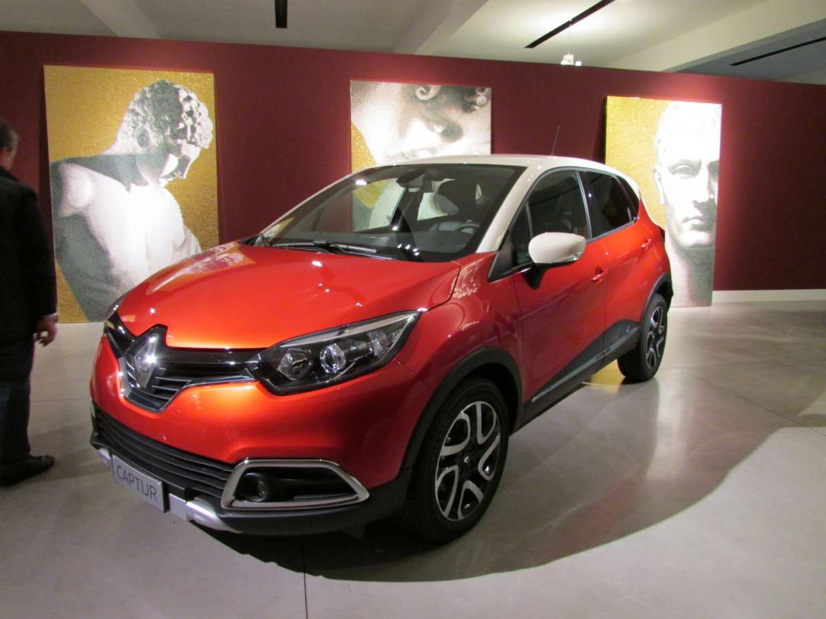 Conferenza stampa del Captur Excite