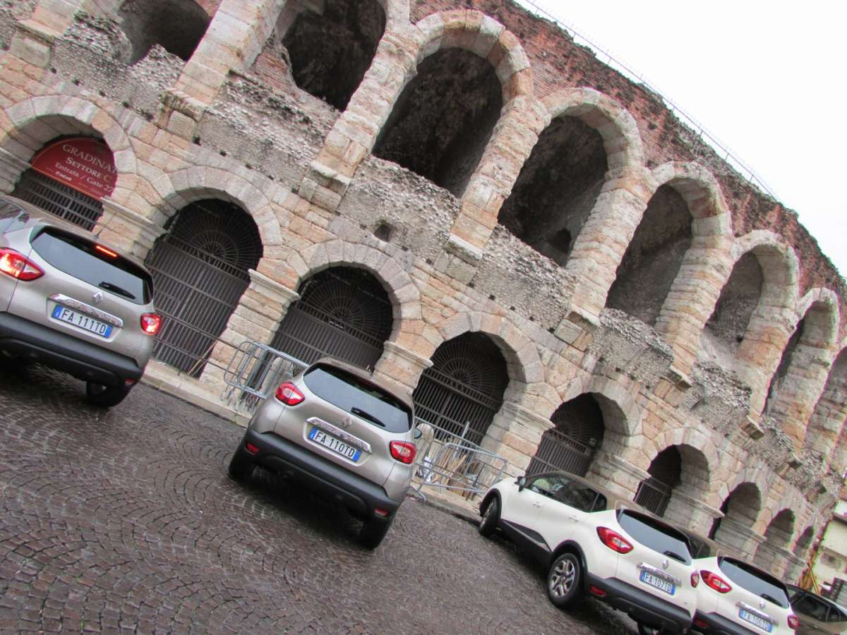 Captur Iconic all'Arena di Verona