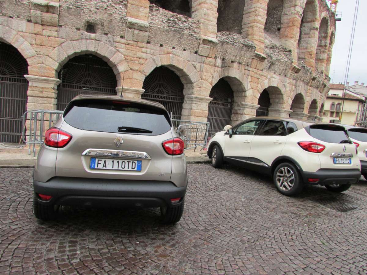 Captur Iconic marrone caramello e panna