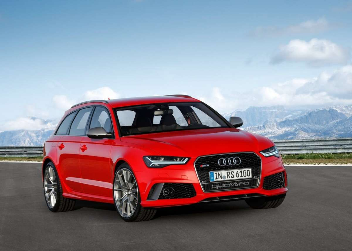Audi RS6 Avant Performance anteriore