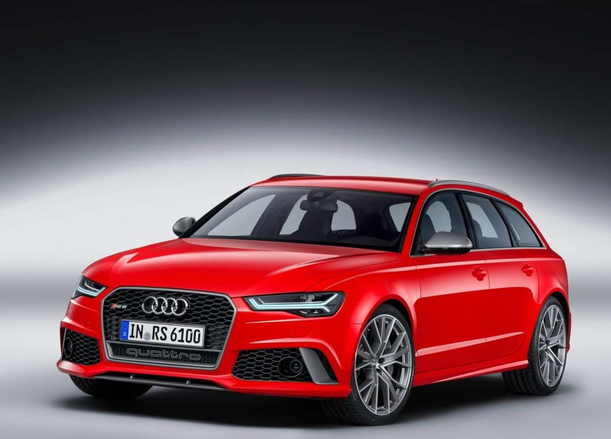 Audi RS6 Avant Performance fari led