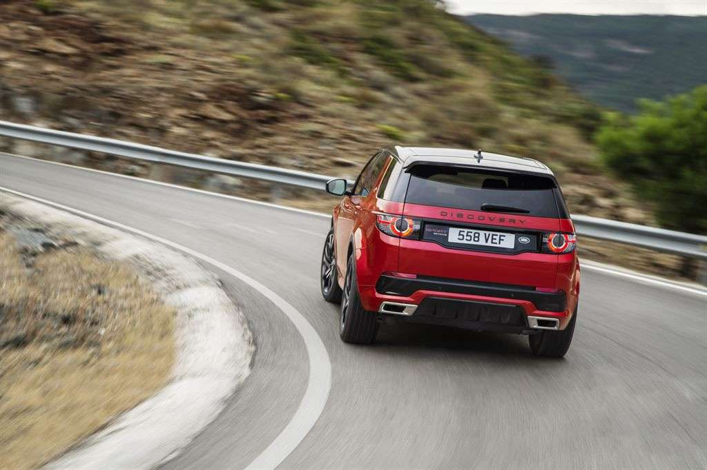 Land Rover Discovery Sport Dynamic 2016 tecnologia: launch control