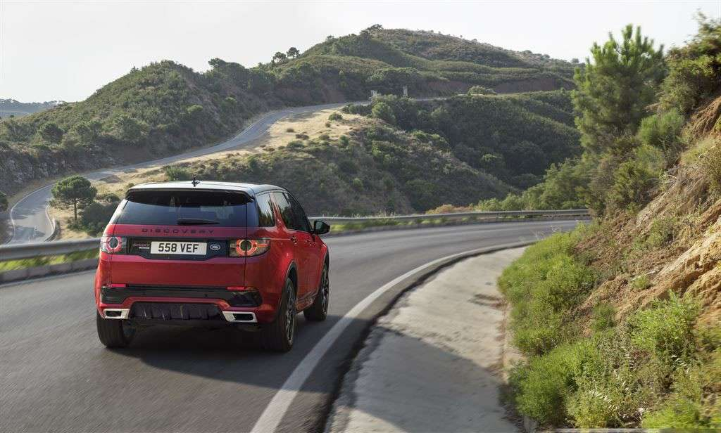 Land Rover Discovery Sport Dynamic 2016 tecnologia: ATPC