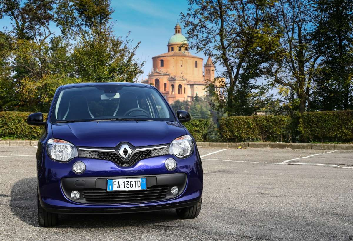 Twingo Lovely di muso