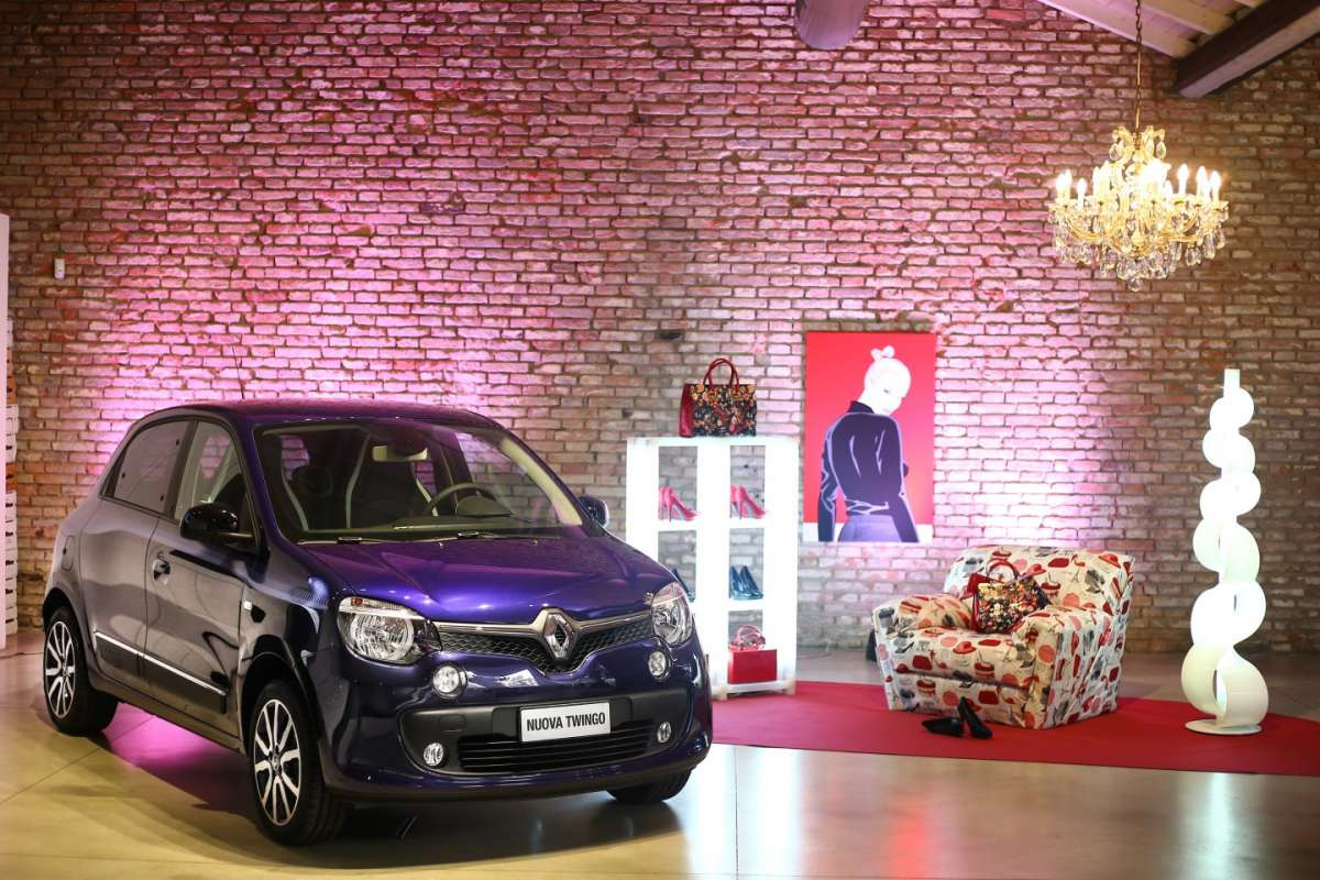 Conferenza stampa di Twingo Lovely