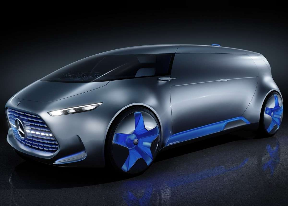 Mercedes Vision Tokyo concept alimentato a fuel cell