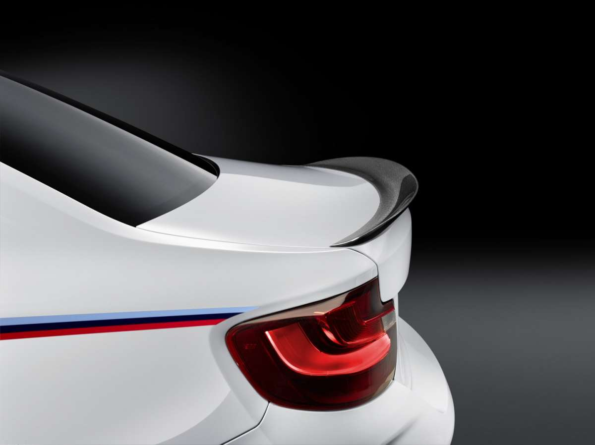 Spoiler di BMW M2 M Performance