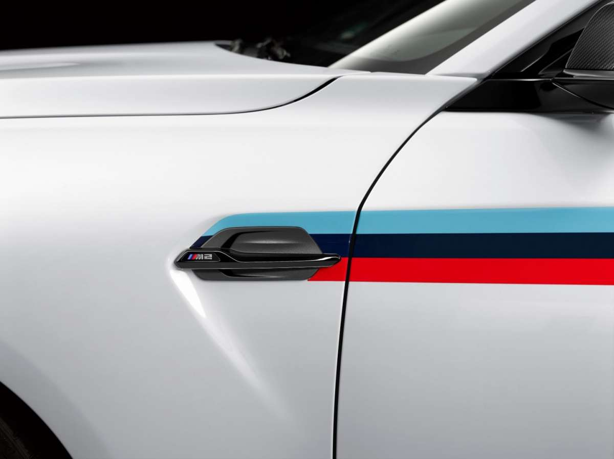 BMW M2 M Performance, stickers