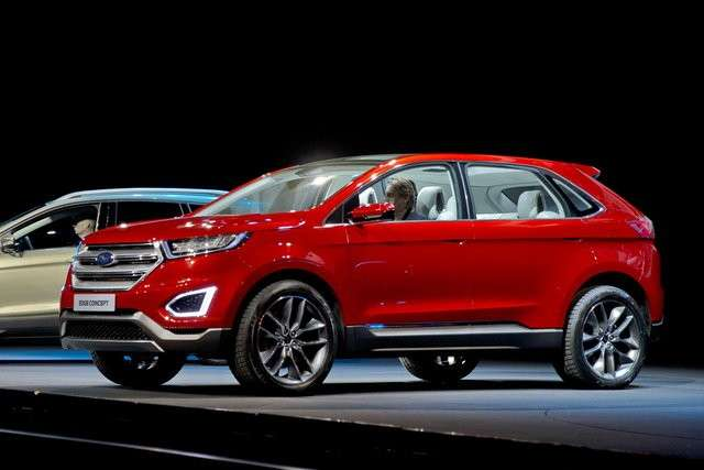 Ford Edge, dalla grandi dimensioni.