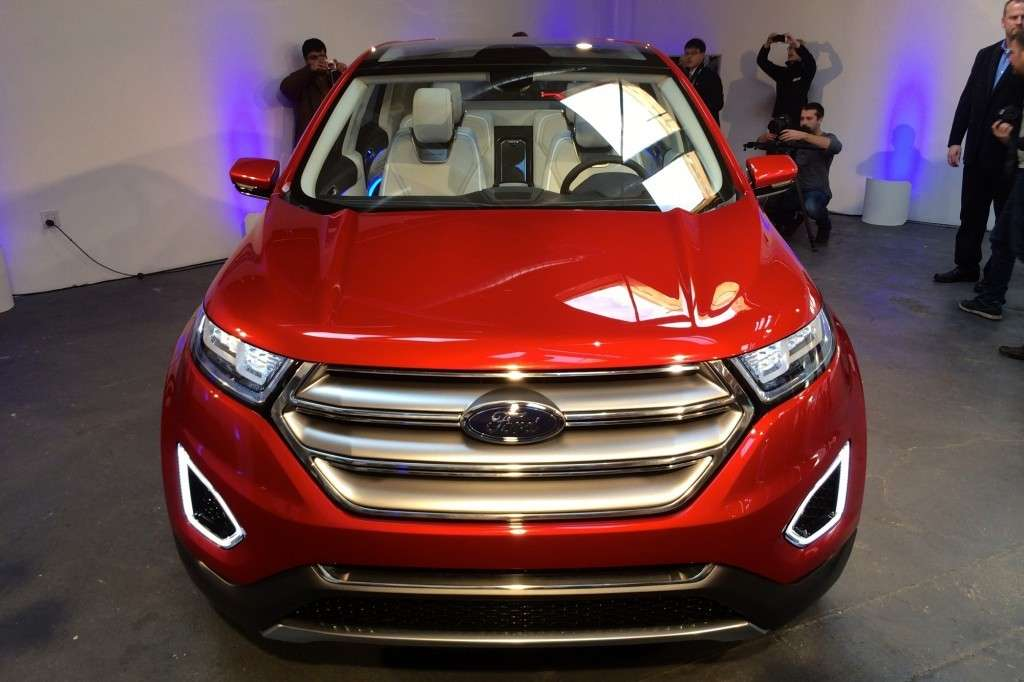 Ford Edge, categoria premium.