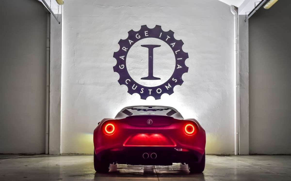 Alfa Romeo 4C by Garage Italia Customs