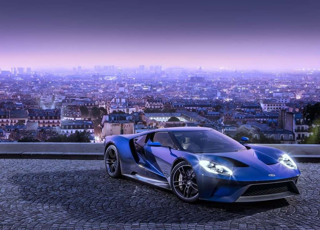 Ford GT 2016 luci