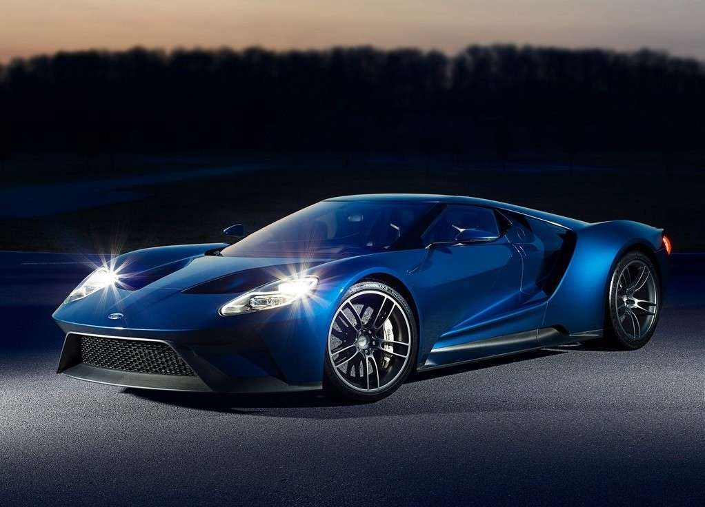 Ford GT 2016 frontale