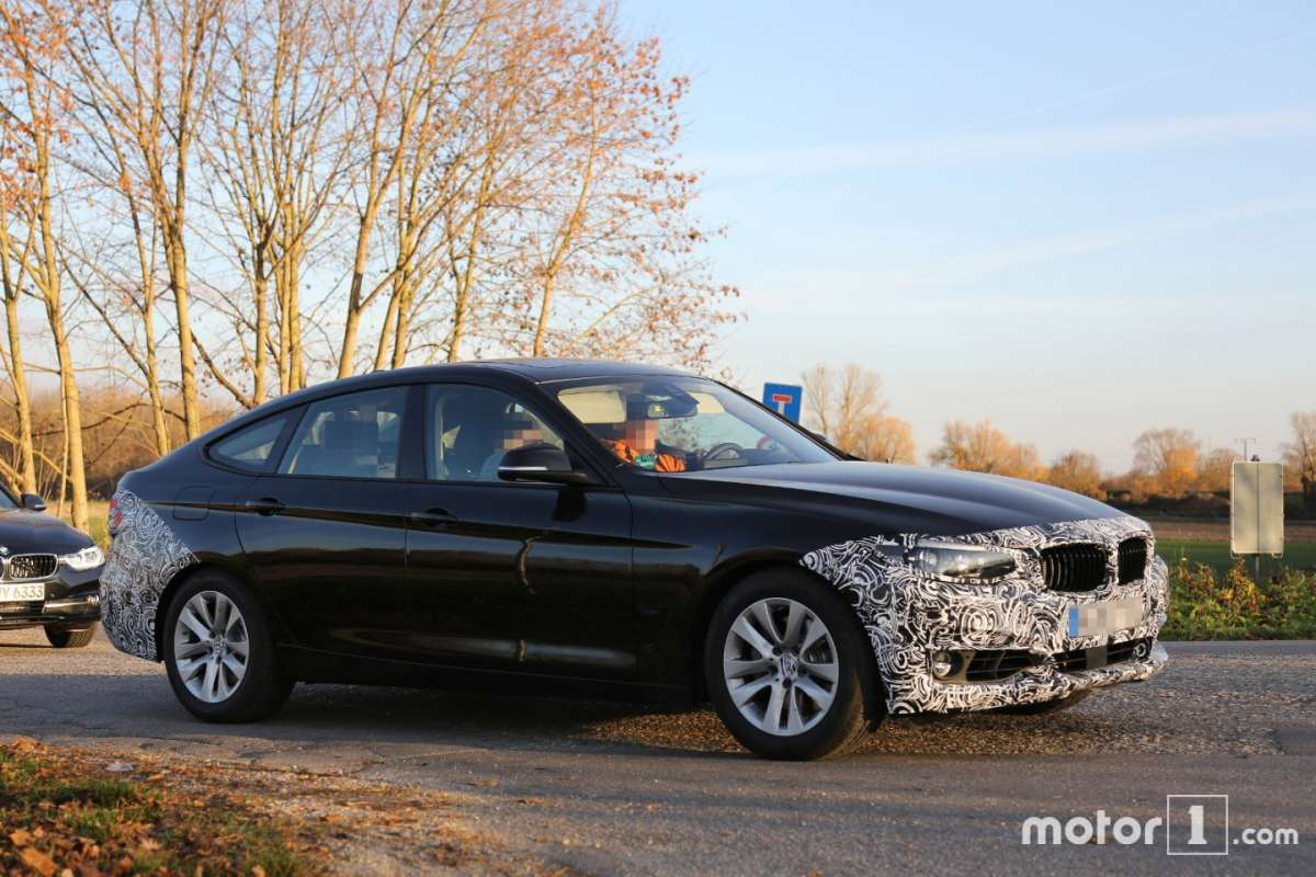 BMW Serie 3 GT spy dimensioni