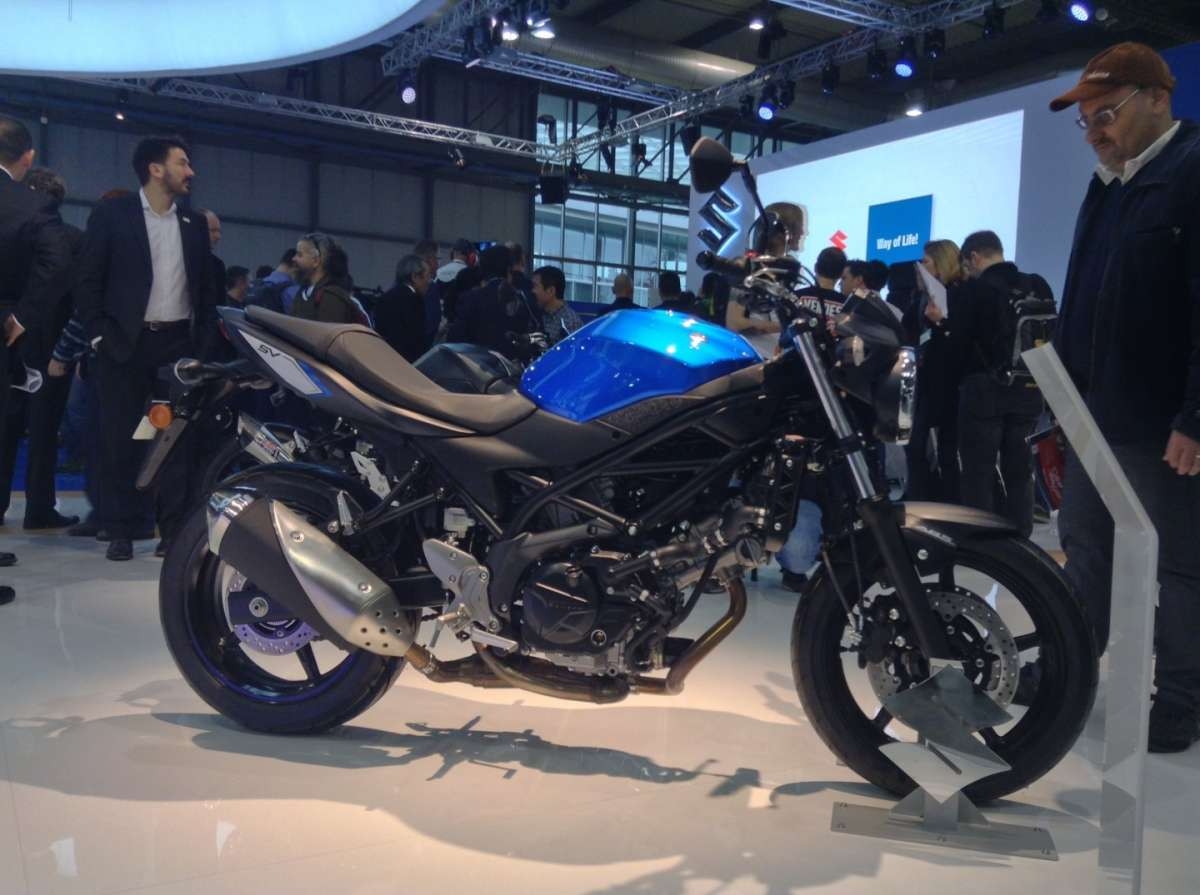 Suzuki SV 650 entry level di rispetto