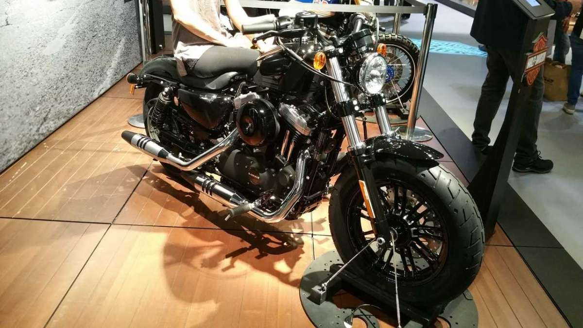 Harley-Davidson Forty-Eight 2016 anteriore