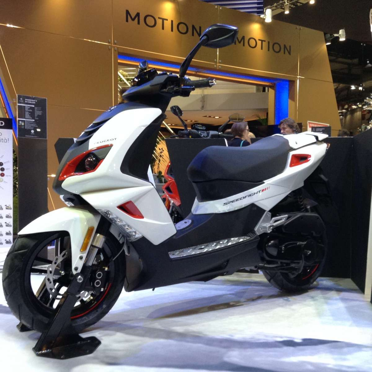 Peugeot Speedfight 50 Total Sport 2016
